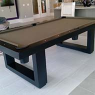 Modern Neutral Pool Table