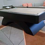 Modern Curved Based Billiard Table