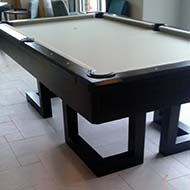Open Box Base Modern Billiard Table